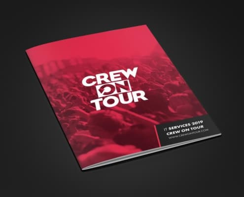 Brochuretekst voor Crew On Tour